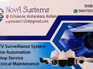 CCTV SECURITY CAMERA INSTALLATION AND SERVICES