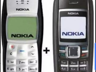 Nokia 1100 and1600 for sale