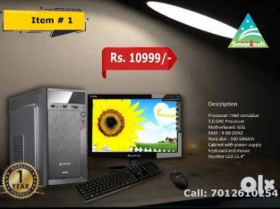Intel Core2duo full system for sale
